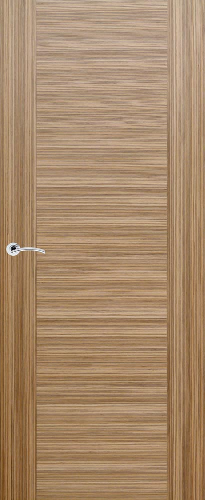 Santander EV Zebrano & Zebrano Inlay | Pronto Doors